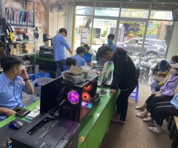 Vệ sinh máy tính laptop uy tín chất lượng lấy liền phường long trường quận 9