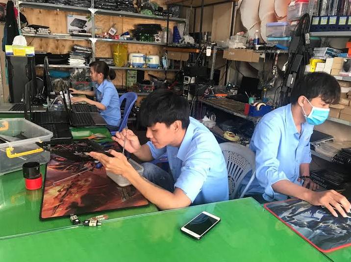 Vệ sinh máy tính laptop uy tín chất lượng lấy liền phường long thạnh mỹ quận 9