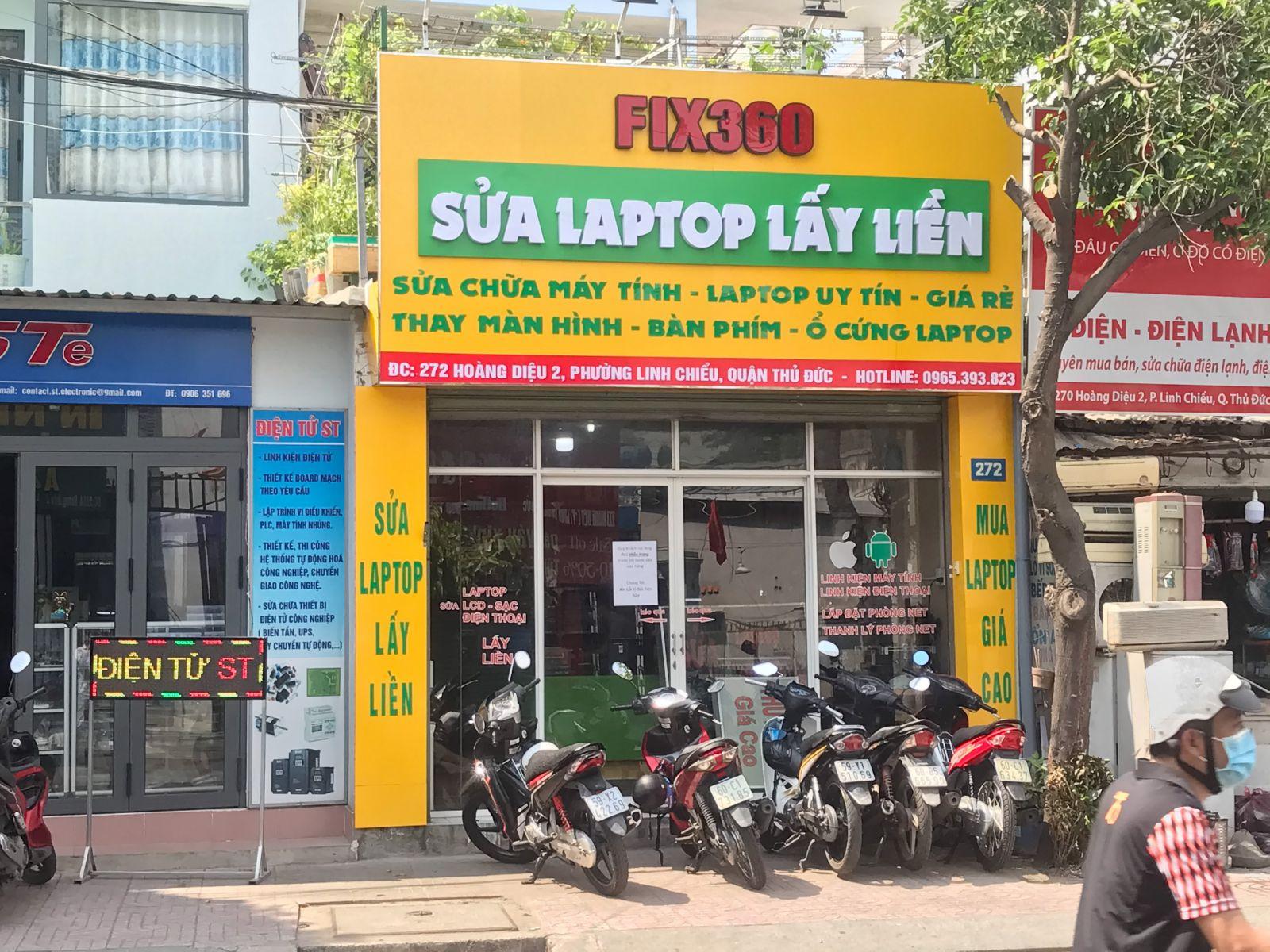 Báo giá vệ sinh máy tính laptop trực tiếp theo dõi đợi lấy liền phường tam phú quận thủ đức |fix360